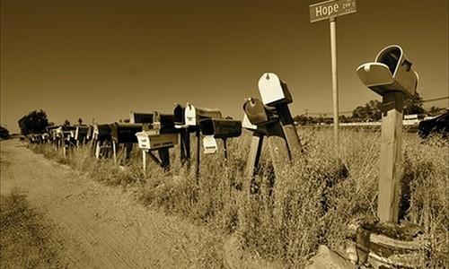 American Mailboxes – Hope Street … Tired Of Inequality? (September 12, 2013 3:05 AM) — Study an excerpt of Average Is Over …