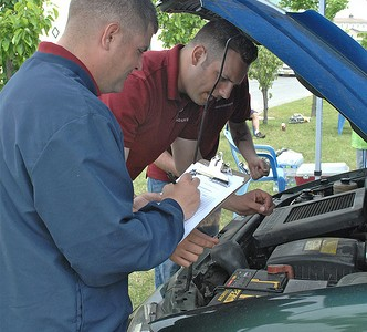 BOSS Military Spouses Appreciation Day – Free Vehicle China Inspection – U.S. Army Garrison Humphreys, South Korea – 11 May 2012