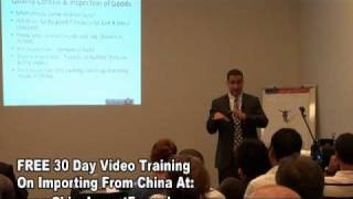 Importing From China – China Suppliers Pre China Inspection Tips ( 11of 13)
