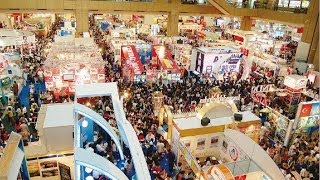 The mountain of attenders in 2013 Automn canton fair china exhibition for import and export