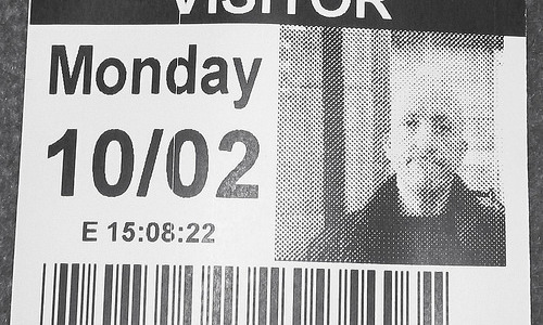 London February ten 2014 040 Visitor Pass Parliament