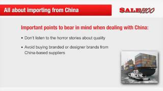 How to Get Goods from China Wholesale to sell on Ebay and Amazon