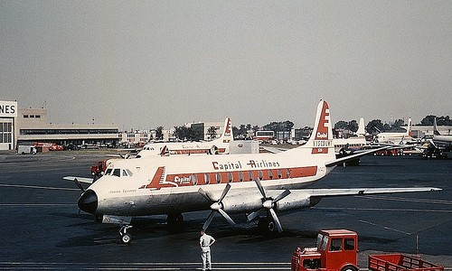 Capital Airlines Vickers Viscount